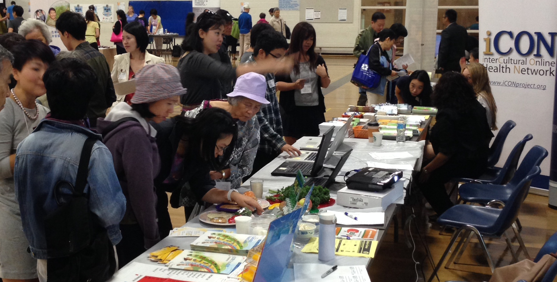 iCON Chinese Workshop at Health Fair 2014: Another Successful Event with the Community to Discuss Healthy eating for Liver Disease