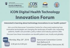 iCON Digital Health Technology Innovation Forum